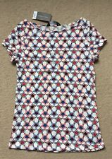 Dorothy Perkins Star T-Shirt Top Blue Red White Uk 8 BNWT