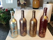 -FLOWER BOTTLES-PICK YOUR COLOR!  USE AS A CENTERPIECE, VASE...WEDDINGS, EVENTS