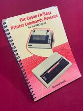 The Epson FX/Kaga Printer Commands Revealed for the BBC Micro Maunual FX-80