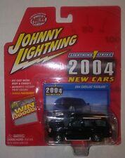 Johnny Lightning 1/64 2004 Cadillac Escalade  Lightning Strike New Cars Black