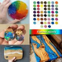 52 Colors Epoxy Resin Mica Powder Tumblers Dye Powder Pigment Kit DIY Set