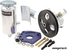 GoRacin.Com Complete Small Block Chevy Head Mount Power Steering Pump Kit,SBC -