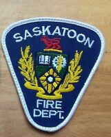 CANADA PATCH FIRE SASKATOON