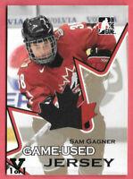 2015-16 Sam Gagner ITG Final Vault 2007-08 Going For Gold Jersey 1/1 - Oilers