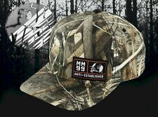 New Metal Mulisha Men's Realtree Camo Boxed Curved Snapback Cap Hat