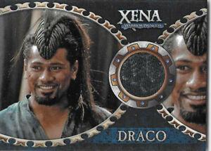 "Xena Dangerous Liaisons costume card C4 Jay Laga'aia/Draco ""Comedy of Eros"""