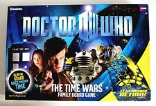 DR WHO - THE TIME WARS FLIP BOARD ACTION GAME  by IMAGINATION 1996