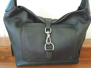 DOONEY&BOURKE large black leather shoulder bag