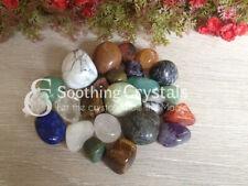 1/2 lb Lot of Mix Agate (China) Tumbled Stones Polished Tumbles Crystal Tumbles