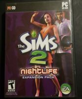 The Sims 2 Nightlife PC Game Expansion Pack 2005 Complete