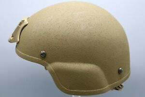 Unissued US Army Enhanced Combat Helmet ECH ACH IHPS with NVG Mount NEW - LARGE