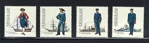 Portugal Stamps | Navy Issue | 1983 | #1603-1606 MNH