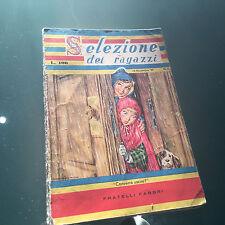 SELEZIONE DEI RAGAZZI 15 NOVEMBRE 1959 n.4 fumetti FRATELLI FABBRI