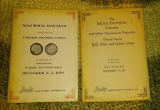 Stacks Coin Auction Catalogs From 1960's