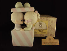 Precious Moments, 101702, Our First Christmas Together, Music Box, Cedar Tree
