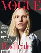 Vogue Paris March 2013 Karlie Kloss ISABELI FONTANA Malgosia Bela DAVID BOWIE