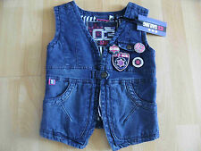ANOTHER WORLD tolle Jeansweste m. Buttons Gr. 116/122  NEU
