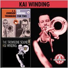 Trombone for Two/The Trombone Sound by Kai Winding (CD, Mar-2006, Collectables)