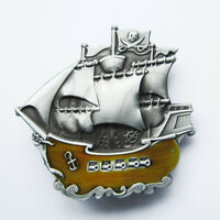Buckle Pirate Ship Warship Boat Belt Buckle Gurtelschnalle Boucle de ceinture