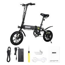 Smart Bici Bicicletta Elettrica Pieghevole 14 E-Bike 250W 25km/h 7.5Ah NERO IT