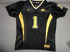 8ef5852b2 Colosseum #1 NCAA Iowa Hawkeyes SEWN Football Jersey Youth M EXCELLENT