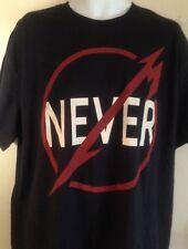 Metallica Official Through The Never Xl T Shirt T Rock Metal Out Of Print