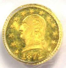 1872 Washington California Gold Quarter 25C BG-818 - PCGS MS65 - $3,750 Value!