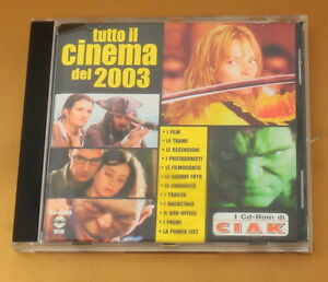 TUTTO IL CINEMA DEL 2003 - CIACK - OTTIMO CD [AE-157]