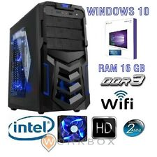 PC DESKTOP COMPLETO ARES GAMING RAM 16GB RAM HD 1TB WIFI WINDOWS 10 PROFESSIONAL