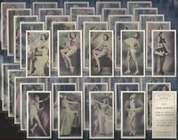 PHILLIPS-FULL SET- BEAUTIES OF TODAY (50 SET OF CARDS) - EXC+++