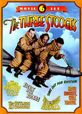The Three Stooges: 6 Movie Set (DVD, 2014, 2-Disc Set)