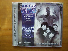 Doctor Who Echoes of Grey, 2010 Big Finish audio book CD
