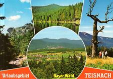 94244 Teisnach / Bayer.Wald  -  Ortspanorama - Felsformation - Wanderung  - 1985