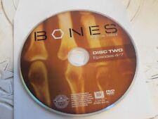 Bones Third Season 3 Disc 2 Replacement DVD Disc Only 65-12