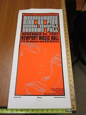 MB/ 2002 Rock Roll Concert Poster Mushroom Head High On Fire Mike Martin S/N#100