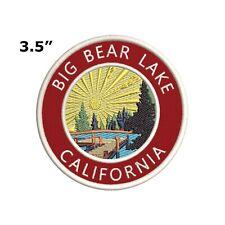 Big Bear Lake California Embroidered Patch Iron / Sew-On Souvenir Gear Applique