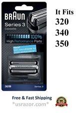 Braun 32B Foil Cutter Cassette Series 3 Shaver Blade 310 320 340 360 370 380 390
