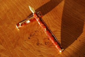 Tibaldi Modello 60 fountain pen, Largo (broad) nib, serviced. Fantastic writer.