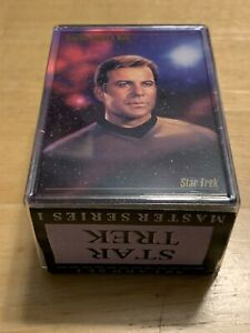 Star Trek Master Series 1 Full 90 Card Base Set of Trading Cards SkyBox 1993