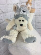 Beanie Kids Skansens PYT LTD 15cm Atticus Yellow Footed Walaby White & Silver