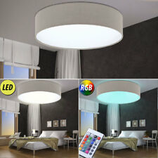 LED Ceiling Lights RGB Remote Control Living Bedroom Textile Spotlight Dimmable