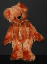 "Ty Beanie Babies ""Clay"" Orange Bear Fully Jointed Bear 1993"