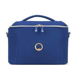 "Vanity case DELSEY ""Montrouge"" - bleu - DEL-2018310-02-MONTROUGE-Bleu"