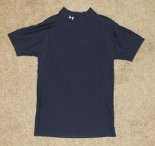 Under Armour Compression Short Sleeve Shirt Men's XL Navy Blue