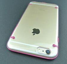 HOT PINK CLEAR AERO AQUAFLEX GEL HYBRID SKIN CASE COVER APPLE IPHONE 6S PLUS 5.5