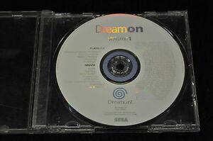 Sega Dreamcast Dream On Volume 1 Demo Disc