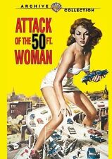 ATTACK OF THE 50 FT WOMAN (1958 Allison Hayes)  Region Free DVD - Sealed