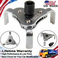 Universal Car Tool Two Way Oil Filter Wrench Full Adjustable With 3 Jaw Remover