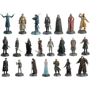 Offical HBO GAME OF THRONES Figurine Collection Eaglemoss Models Only - In Cases