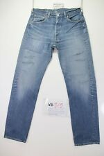 Levis 501 Customized (cod. WB315) tg.48 W34 L34 jeans remake strappato destroy